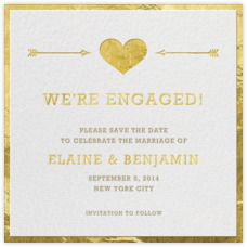 Save the date - Wedding save the dates - Paperless Post