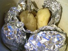 Crockpot Baked Potato! - neat idea