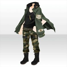 'Cross Force' is a gacha that ended on with 24 gacha items. Manga Clothes, Drawing Clothes, Kawaii Clothes, Clothing Sketches, Fashion Sketches, Komplette Outfits, Anime Outfits, Armor Clothing, Character Outfits