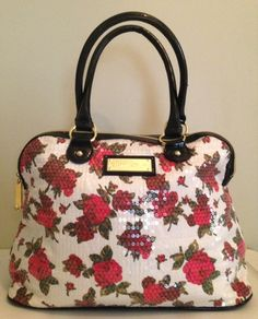 Betsey Johnson Twinkle Toes Large Dome Satchel  . Starting at $5 on Tophatter.com! Juicy + Betsey Auction Tophatter 7/27/14
