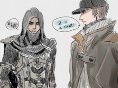 doodle 17 by on DeviantArt Video Game Art, Video Games, Assessin Creed, Cry Of Fear, Tom Clancy's Rainbow Six, Great Team, Bioshock, Partners In Crime, Manga