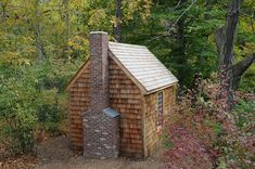 Replica of Henry David Thoreau's Cabin at Walden Pond