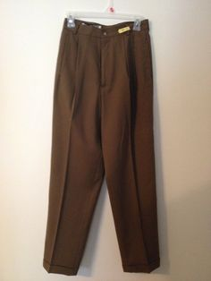 Women's Vintage Size 7/8 Conserative Brown Work by touchofclass123