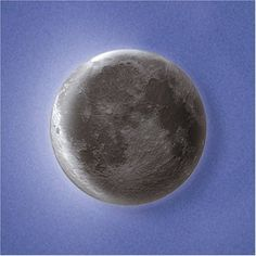 A realistic moon night light!  Someone's astronomer daddy would be very happy about this.
