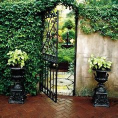 We all want to gaze beyond the ancient brick walls of Savannah's historic district to see the hidden gardens. One weekend each April, some of these private plots swing open their iron gates to welcome you in.