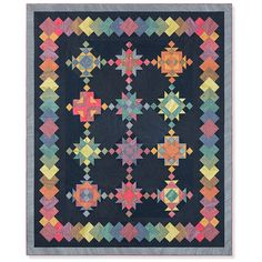 A New Age Block of the Month | Nancy Rink | Marcus Fabrics Wiccan Jewelry, Medieval Jewelry, Quilt Kits, Quilt Blocks, Quilting Projects, Quilting Designs, Chalk Pencil, Sampler Quilts, Block Of The Month