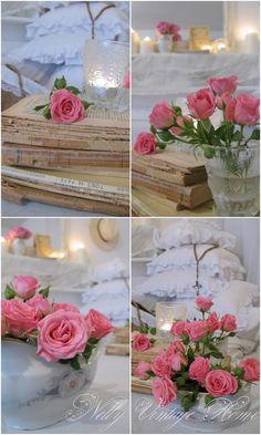 nelly vintage home: Свежи рози