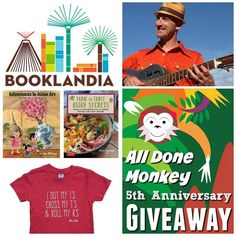 IT'S A GIVEAWAY! Our friend @alldonemonkey is marking her 5th blogiversary and to help her celebrate we are giving away a fabulous prize package valued at approx. $127! The giveaway is open internationally so don't miss out!  Go Here Next: @multiculturalkidblogs  What You Could Win: A Prize Package that includes A Booklandia Box of Spanish Chapter Books from @barefootinbooklandia the soon-to-be-released cookbook Farm to Table Asian Secrets and the children's book Adventures in Asian Art from…