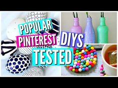 You Tube craft and some food recipes Pinterest Home Decor Ideas, Diy Pinterest, Diy Décoration, Easy Diy, Twig Furniture, Diy Back To School, Diy Tumblr, Disney Diy, Summer Diy