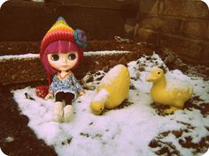 Matilda in the Snow #blythe