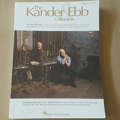Musical Theater Song Book - Kander & Ebb Gently used song book. 40 selected songs in new arrangements authorized by the songwriters. Includes songs from Cabaret, Funny Lady, Kiss of the Spider Woman, etc.  A few dings and marks from being in storage, but in good condition.  Theater, broadway, sheet music, musical. Other