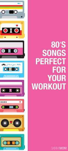 Jam to these 80's tunes during your next workout!