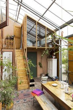 Tiny House Cabin, Tiny House Design, My House, Earthship Home, House In Nature, Home Greenhouse, House Goals, My Dream Home, Exterior Design