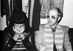 Freddien Mercury and Elton John