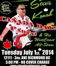 Canada Day Party at The Buck!