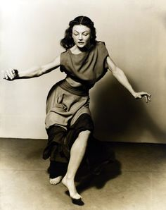 Barbara Morgan.  Valerie Bettis, 1938.