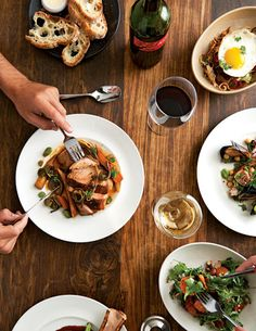 Whisknladle is one of our favorite restaurants. Get the cutting board artisanal meat and cheese platter. Great wine recs and farm-to-table eats.