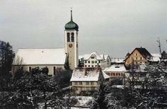 Neukirch - Egnach, Canton of Thurgau, CH San Francisco Ferry, Notre Dame, Switzerland, Building, Travel, Beautiful, Viajes, Buildings, Traveling