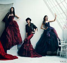 2013 Wedding Dress Trend #1: Color - Vera Wang