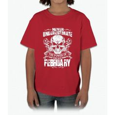 Born in february Young T-Shirt