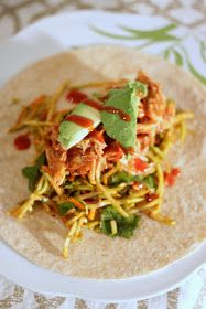 Brunch N' Cupcakes: {BBQ Chicken Tacos}