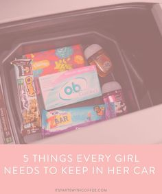 576196ac36 5 Things Every Girl Needs To Keep In Her Car - It Starts With Coffee - Blog  by Neely Moldovan - Lifestyle