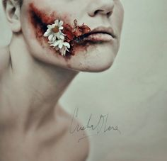 Cristina Otero, even in death it grows. Stunning