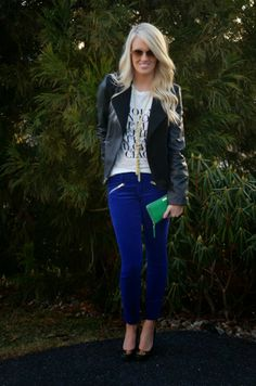 Cupcakes & Couture: What She Wore: McKenna Bleu