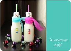 10  Snowman Activities For The KidsSnowmen from White Glitter PlaydoughLetter S: snowman craft