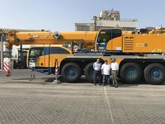 United Arab Emirates-based port operator Sharjah Seaports Authority has bought a new Demag AC all terrain crane from Terex Cranes. The purchase was made through Terex Cranes distributor Al-Bahar. The crane will be used at Port Khalid, Sharjah, UAE. Crane Construction, Sharjah, United Arab Emirates, Khalid, Vehicles, Stuff To Buy, Tools, News, Heavy Equipment