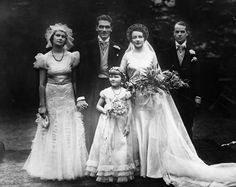 Chic Vintage 1930s Wedding – Jill Esmond & Laurence Olivier