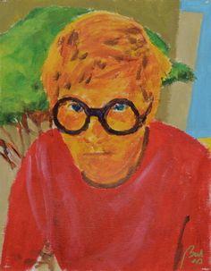 David Hockney  (Portraits 1. Painters, scene 6), bachmors artist