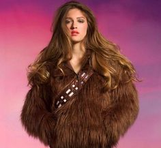 Stay warm and stylish, Star Wars-style, with this Chewbacca hoodie.