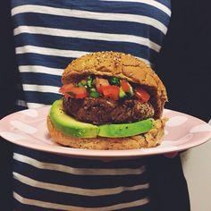 recept veggieburger