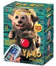 """Yano Storyteller Talking Animated Toy by Yano. Save 67 Off!. $23.14. For ages 3 and up. Includes the story of """"Jana and the Magic Fish"""". Also comes with a cordless remote for interactive storytelling. Brand new in box! Yano electronic animated storytelling buddy. Yano includes the story of """"Jana And The Magic Fish"""", plus the cordless remote control interactive storybook touchpad. Yano is an electronic animated talking pal and is for ages 3 and up. He is so cute when he talks because his h..."""