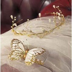 Gold Tiara And Comb | Craft Ideas & Inspirational Projects | Hobbycraft. TIARA