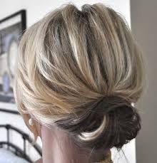 Image result for updos for fine hair