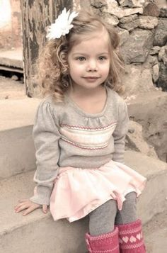 Darling Little Girl - Vintage Portraits, Vintage Photos, Children's Photography Ideas