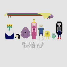 Hey, I found this really awesome Etsy listing at https://www.etsy.com/listing/127361485/adventure-time-cross-stitch