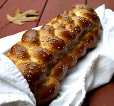 """Famous Challah: """"This has become the challah recipe that I will pass down to my children. Seriously, it's the best challah I have ever had."""" -Ezzie's Mama"""