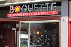 Boguette - another cafe near the Pannekoekenstraat. Cute, small and they serve Vietnamese sandwiches and bubble tea. Nice to grab lunch!