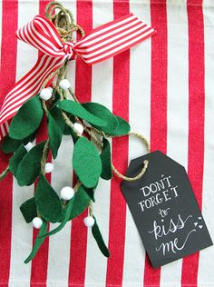 No matter how well your halls are decked, the jobs not done until the mistletoe is hung! If...