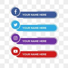 Social Media Art, Social Media Buttons, Social Media Banner, Social Media Template, Youtube Banner Template, Youtube Banners, Social Web, Social Media Icons, Graphic Design Flyer