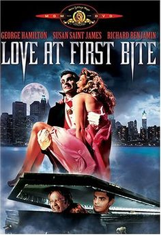 Love at First Bite @ niftywarehouse.com #NiftyWarehouse #Dracula #Vampires #ClassicHorrorMovies #Horror #Movies #Halloween #Vampire