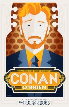 Conan O'Brien 'Be Cool My Babies!' by Weidel