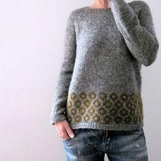 lilalu está se preparando para o outono, Ravelry: lilalu está se preparando para o outono. Fair Isle Knitting, Loom Knitting, Free Knitting, Sweater Knitting Patterns, Knitting Designs, Knit Patterns, Tejido Fair Isle, Pull Jacquard, Icelandic Sweaters