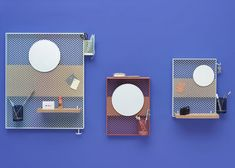 Inga Sempé's modular pin board for Hay tidies away small items
