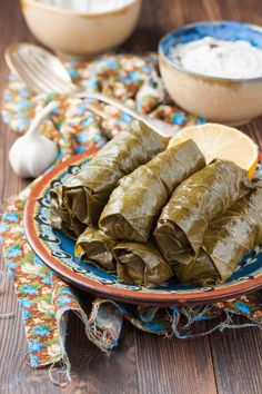 Antipasto, Greek Recipes, Recipies, Food Porn, Appetizers, Snacks, Cooking, Ethnic Recipes, Vine Leaves