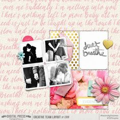 Capture Kit by Little Lamm and Co.  No Regrets Pocket Cards by Little Lamm and Co.  The Original Torn Bits No. 4 by creashens  Project Twenty Fifteen 6x8 Templates Vol. 2 by Laura Passage