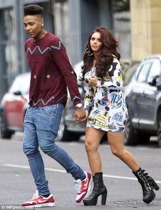 Little Mix's Jesy Nelson with her ex-boyfriend Jordan Banjo